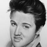 """Texten till låten """"Elvis The King of rock"""""""
